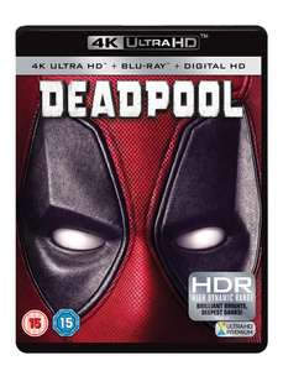 Deadpool 4K Ultra HD Blu-ray - £9.99 with any purchase @ HMV