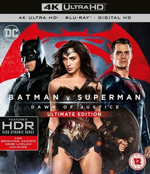 Batman V Superman: Dawn of Justice 4K Ultra HD Blu-ray - £9.99 with any purchase @ HMV