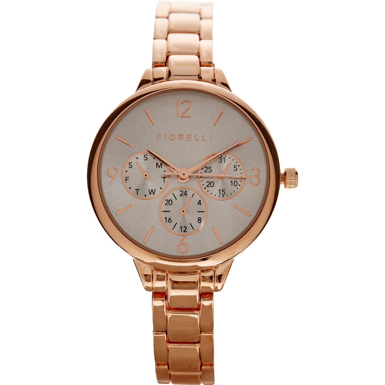 FIORELLI  Rose Gold Bracelet Wrist Watch Ladies with sub dials RRP: £65 - £19.99 + £1.99 c&c @ TK MAXX