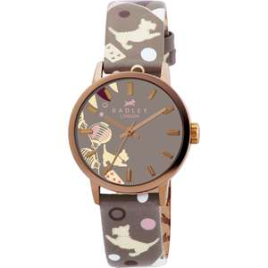 Flash Deal : Radley RY2068 circus print leather strap watch now £35 @ Watches4u ( Amazon £69! )