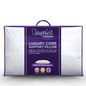 BOGOF on Slumberdown Sleepwell Luxury Core Support Pillows £11.99 @ Sleepseeker