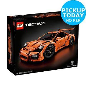 LEGO Technic Porsche 911 GT3 RS Argos eBay with code PUMPKINS £134.99