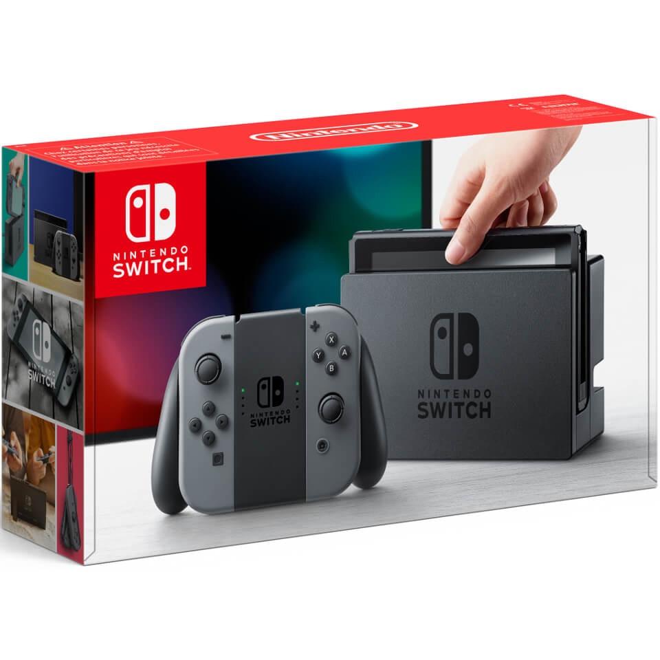 Nintendo Switch Console with Grey Joy-Con | £259.99 | Zavvi.com