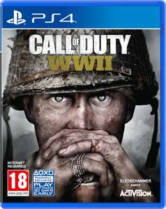 Call of Duty: WWII (Xbox One and PS4) | £14.99 / £15.98 delivered @ Zavvi.com