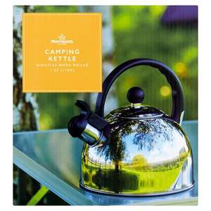 MORRISONS CAMPING KETTLE £5