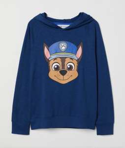 Chase and Marshall - paw patrol hoody £5 delivered for members @ H&M
