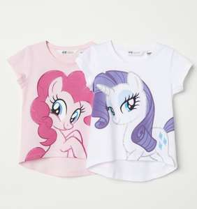 2pack my little pony/frozen girls T-shirts' £6 delivered @H&M