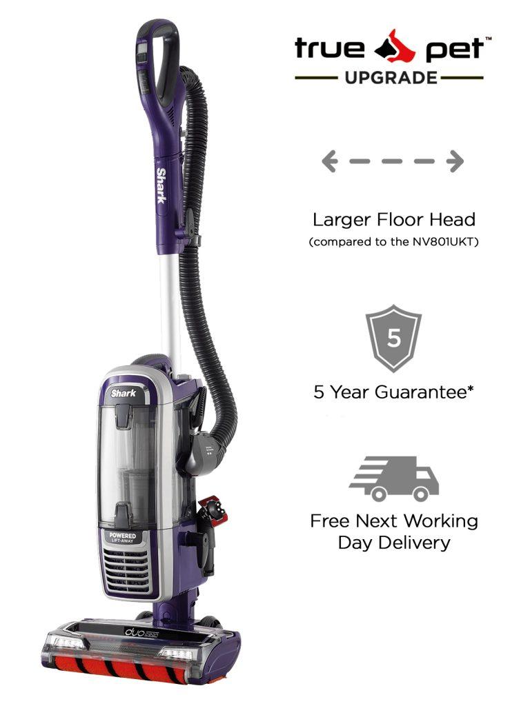 Shark TruePet Duoclean Corded Upright Vacuum Cleaner [NV801UKT] £199.96 @ Shark