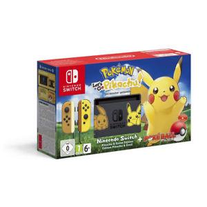 Nintendo Switch Pokemon, Lets Go Pikachu (Or Eevee) Console Pre-order - £305.86 - eBay/Shopto