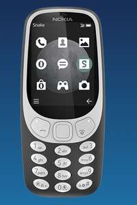 "Nokia 3310 3G New - Yellow/Red/Charcoal £25 / £35 with £10 topup ""optional"" @ O2"