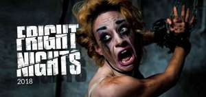 Thorpe Park Fright Night Tickets for £29.50 instead of £39 @ Wowcher