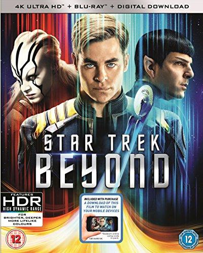 Star Trek Beyond 4K UHD Blu Ray £7.97 (Prime, +£2.99 non-prime) @ Amazon