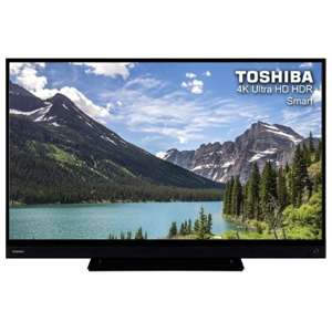 "Toshiba 43"" 4K Smart TV £269.10 / 55"" £359.10 Delivered w/code @ AO / eBay (Other Models in OP)"