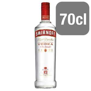 Smirnoff vodka 70cl £10.99 at Spar (26th Oct to 1st Nov)