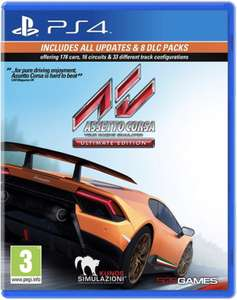Assetto Corsa Ultimate Edition PlayStation 4 - £19.50 @ Coolshop