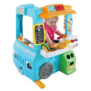 Fisher price food truck at Smyths for £53.99