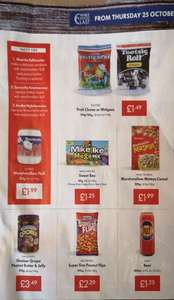 USA candy and treats from Lidl, from Thursday 25th October