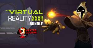 VR Bundle XXXII 9 Games Steam Keys from IndieGala £3.11 plus 56% Discount on SuperHot VR