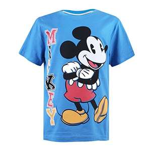Disney Boy's Mickey Stack T-Shirt £2.33 @ amazon add on and free click and collect.