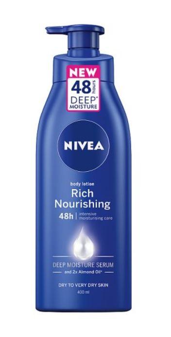 Nivea Body Rich Nourishing Moisturiser 400Ml for £2.50 @Tesco