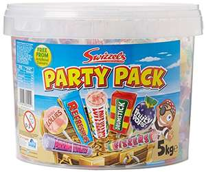 Swizzels Matlow Party Mix Massive *5kg* Bucket of Sweets - £17.50 at Amazon (£4.49 delivery non Prime)