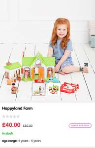 ELC Happyland Farm half price at ELC for £40 (C&C)