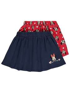 2X Disney Minnie Mouse Skirts all ages upto 6yrs now £4 or 2X shorts £4  @ Asda C+C