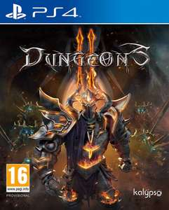 Dungeons II (PS4) - £3.99+£0.99 delivery @ Zavvi (Dissidia Final Fantasy NT £8.98, South Park: The Fractured But Whole £12.98)