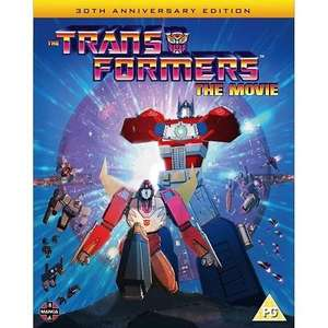 Transformers The Movie 30th Anniversary Edition (Blu-Ray) £6.49 @ XbiteWorld via eBay