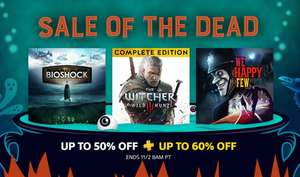 Sale of the Dead at PlayStation PSN Store US Alien Isolation £6.73 The Order £3.03 The Walker PSVR £9.87 Until Dawn £3.79