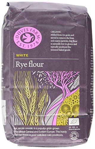 Doves Farm Rye Flour White Organic 1 kg (Pack of 5) at Amazon for £7.50 Prime (£11.49 non Prime)