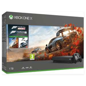 Xbox One X + Forza Horizon 4 + Forza 7 + Red Dead Redemption 2  + 2 Month Now TV Entertainment pass £399.99 @ Game