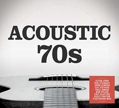 Acoustic 70s cd Box set £4.99 with prime (£6.98 non-Prime) plus free MP3 download @amazon