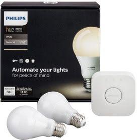 Phillips Hue Starter Kit 25% off for Google Home Mini owners - £44.99