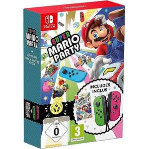 Super Mario Party + Neon Green/ Neon Pink Joy-Con (Nintendo Switch) £88.85 delivered @ Base