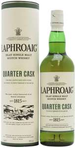Laphroaig Quarter Cask Single Malt Whisky £29 Amazon Deal