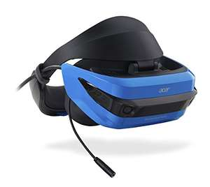 Acer AH101 Mixed Reality VR Headset with Wireless Controllers at Amazon Prime for £199.97