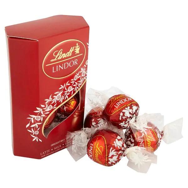 Lindt Lindor Milk Chocolate Box Selection 50g £1 @ Superdrug