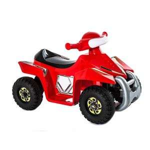 6V Superquad Red Ride-on £29.99 @ TJ Hughes