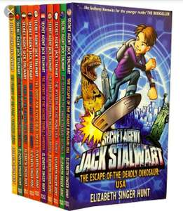 Secret Agent Jack stalwart book collection £12.99 for all 14 books (for 7yrs+) plus free delivery with code SPOOKY10 @ The book people