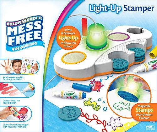 Crayola Mess Free Colour Wonder Light Up Stamper Art and Crafts Kit 10.89 (Prime) £15.38 (Non Prime) @ amazon