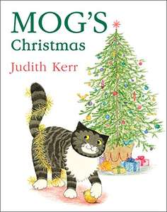 Mog's Christmas - book sold by Amazon. £2 (£1.80 with code). Use Student10 for 10% off if you are a student prime member. Non prime £4.99