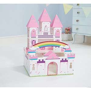 Wooden princess castle £35 from £44.97 from asda free click and collect