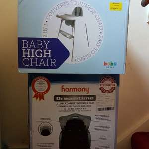 Asda baby clearance - high chair 2.25! Cot 2.00 car seat 7.14 etc!
