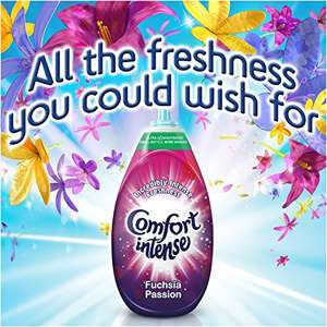 Comfort Intense Passion Fabric Conditioner, 3.42 L - 228 Washes (38 Washes x Pack of 6) @ Amazon £12.00 Prime / £16.49 non-Prime S&S also