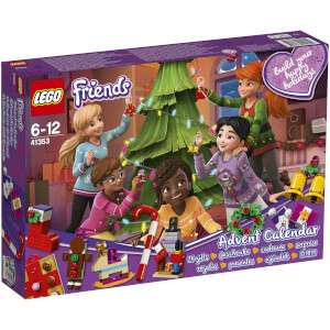 Lego Friends Advent Calendar £22.99 / Lego Star Wars £24.99 @ IWOOT + £15 Cashback via Quidco (New Customers only)