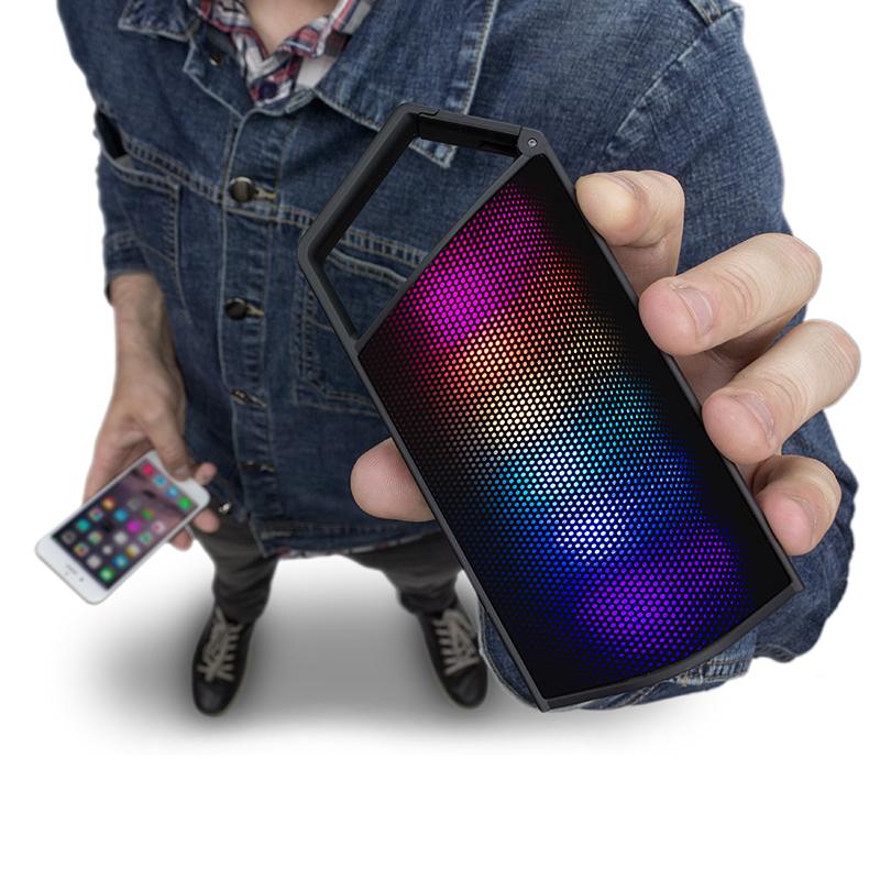 Dancefloor Portable Bluetooth Speaker with Light Show @ Kitsound £16.99