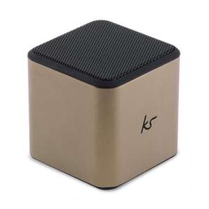 Cube Small Portable Bluetooth Speaker – Gun Metal other colours available @Kitsound £5.99
