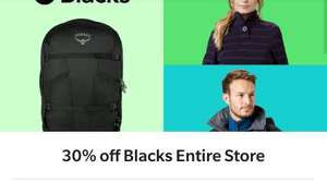Save 30% or more on Blacks Outdoors entire eBay store