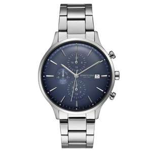 60% discount on watch with mineral glass: Kenneth Cole KC15181004 Men's Blue Dial Wristwatch £56.55 @ HS Johnson